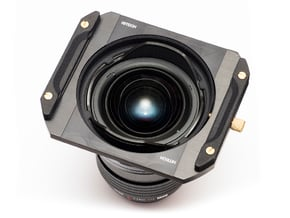 Adapter for M.Zuiko 7-14mm / Hitech filter holder in Black Natural Versatile Plastic