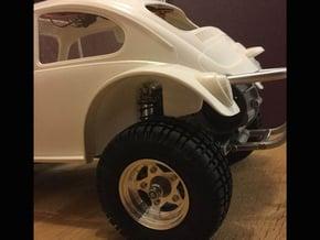 Sand Scorcher Wheel Arches / Inner Fenders set in White Processed Versatile Plastic