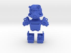 Power Armor in Blue Processed Versatile Plastic