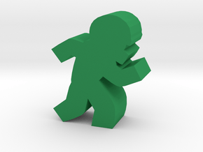 Game Piece, Football Player in Green Processed Versatile Plastic