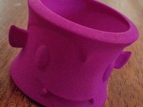 Dracula Tea Light Holder in White Processed Versatile Plastic