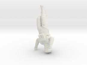 SF Astronaut Sleeping  (55mm Version) in White Natural Versatile Plastic