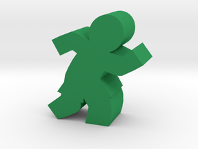 Game Piece, Soccer, Basketball Player in Green Processed Versatile Plastic