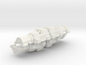 CW TriBeam in White Natural Versatile Plastic