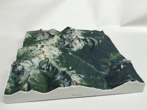 8'' Trout Lake, Colorado, USA in Full Color Sandstone