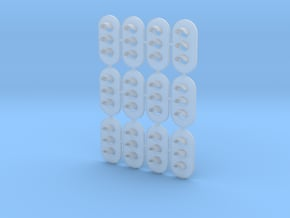 Non-Proto N Scale (1:160) GRS Type D 3 Light Signa in Smooth Fine Detail Plastic