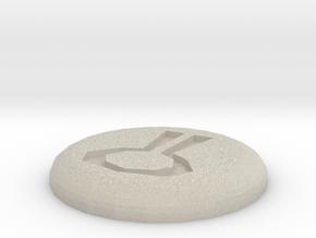 Nature Rune in Natural Sandstone