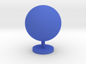 Game Piece, Planet in Blue Processed Versatile Plastic