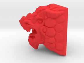 Dragon Keycap (Topre DSA) in Red Processed Versatile Plastic