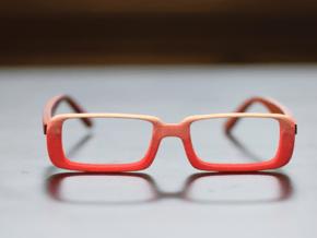 Optoid Hybrid MkXIV: Custom Fit Rx Eyewear in White Processed Versatile Plastic