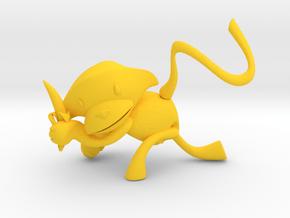 MOA (Moacyr)   .   Saguipiranga  .  Mico Leão Dour in Yellow Processed Versatile Plastic