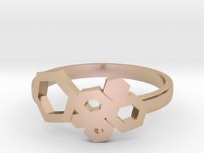 Honey Ring Light in 14k Rose Gold