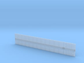 Hopper Sides in Smooth Fine Detail Plastic
