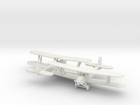 Polikarpov PO-2 1/200 in White Natural Versatile Plastic