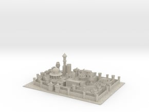 Winterfell in Natural Sandstone