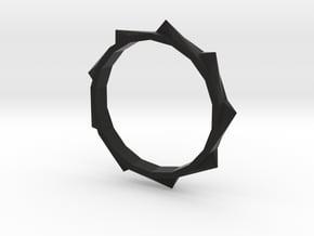 Bracelet Gear in Black Natural Versatile Plastic