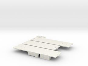 CTA 51-54 Series Underframe in White Natural Versatile Plastic