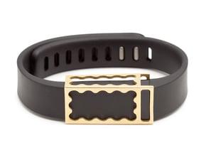 Chloe slide for Fitbit Flex in Natural Brass
