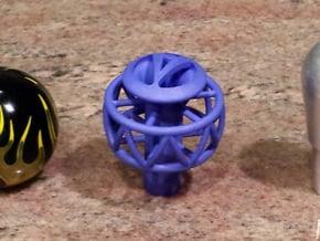 Ariel Atom Ecotec shift knob 5 spd - tap in Blue Processed Versatile Plastic