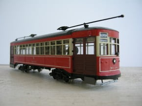 Chicago Car Odd 17 - HO Scale 1:87 in Smooth Fine Detail Plastic
