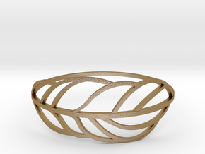 Palm_II in Polished Gold Steel