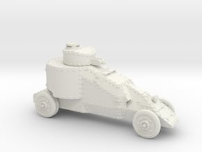 Benz-Mgebrov (20mm) in White Natural Versatile Plastic