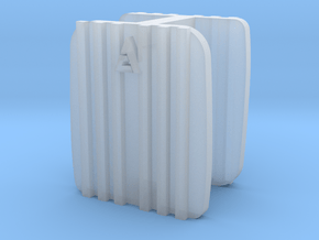 8000 Allis Chalmers 2 grills in Smooth Fine Detail Plastic