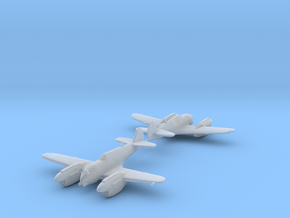 Curtiss P-40 Twin (Proposed) 1:200 x2 HDA in Smooth Fine Detail Plastic