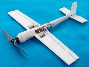 Blaze 3 3D Ultra Micro Hotliner RC Airplane in White Natural Versatile Plastic