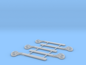 O Scale USS Style B Square in Smooth Fine Detail Plastic