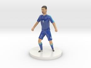 Slovak Football Player in Glossy Full Color Sandstone