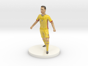 Romanian Football Player in Glossy Full Color Sandstone