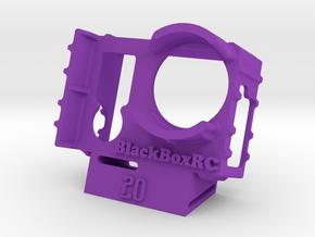 ExoPro GoPro 3 & 4 WEDGE Case (20deg) in Purple Processed Versatile Plastic