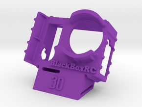 ExoPro GoPro 3 & 4 WEDGE Case (30) in Purple Processed Versatile Plastic