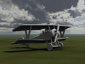 Nieuport 16 in White Natural Versatile Plastic: 1:144