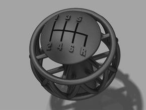 Ariel Atom 6 Speed knob for Ecotec - tap in Black Natural Versatile Plastic