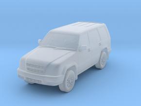 1:150 Isuzu Trooper in Smoothest Fine Detail Plastic