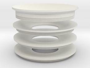 Lieberkuehn Reflector zoom 65mm (On sale at cost) in White Natural Versatile Plastic