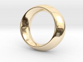 Opus Ring - Bracelet P=180mm in 14k Gold Plated Brass