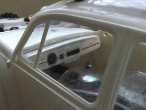 Sand Scorcher Dashboard - Body in White Natural Versatile Plastic