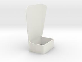 SB Reflector in White Natural Versatile Plastic