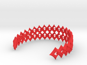 haarband02 in Red Processed Versatile Plastic
