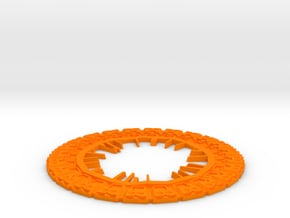 Inner ring for Guardians of the Galaxy Plant Pot in Orange Processed Versatile Plastic