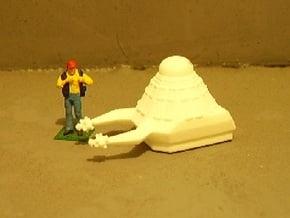 1/87 Scale Death Probe in White Natural Versatile Plastic