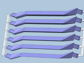 6 short lavender in White Processed Versatile Plastic