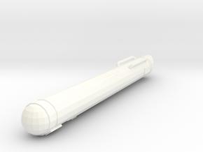 Federation Tos 2500 Single in White Processed Versatile Plastic