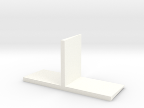 JRRCD 1/64 Silage Bunker Wall 16ft Center Section in White Processed Versatile Plastic