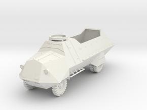 PV116A KP-bil m/42 APC (28mm) in White Natural Versatile Plastic