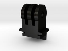 ZeroEdge Dash Cam Adapter for Go Pro Mount in Matte Black Steel