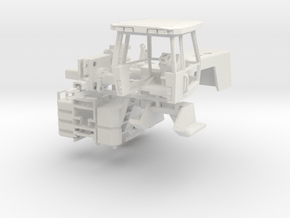 """4W305 Allis Chalmers """"Strong white flexible"""" in White Natural Versatile Plastic"""